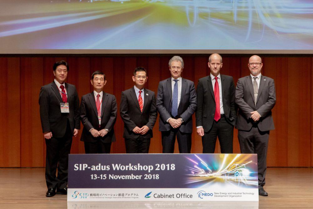 ADASIS present at SIP-adus Workshop 2018 in Tokyo