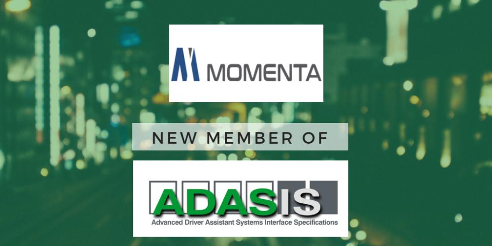 Momenta joins ADASIS as new Member