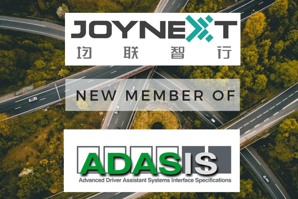 JOYNEXT becomes Member of ADASIS